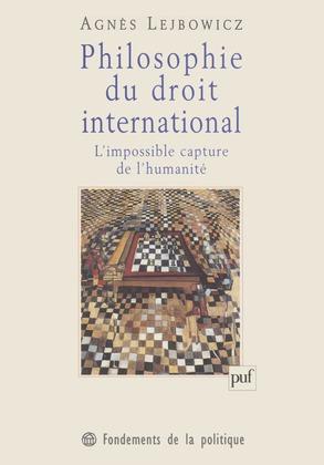 Philosophie du droit international