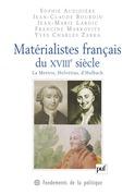 Matérialistes français du XVIIIe siècle