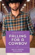 Falling For A Cowboy (Mills & Boon Heartwarming) (Rocky Mountain Cowboys, Book 2)