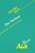 Der Vorleser von Bernhard Schlink (Lektürehilfe)