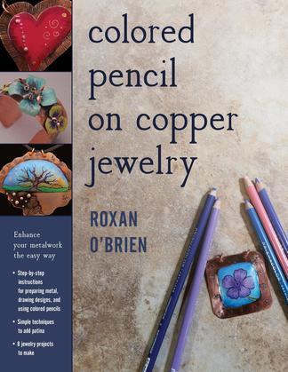 Colored Pencil on Copper Jewelry