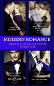 Modern Romance Collection: March 2018 Books 5 - 8 (Mills & Boon e-Book Collections)