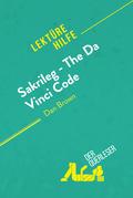 Sakrileg - The Da Vinci Code von Dan Brown (Lektürehilfe)