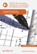 Toma de datos, mediciones y croquis para la instalación de muebles. MAMR0408