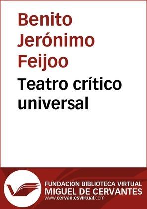 Teatro crítico universal