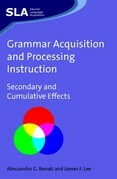 Grammar Acquisition and Processing Instruction