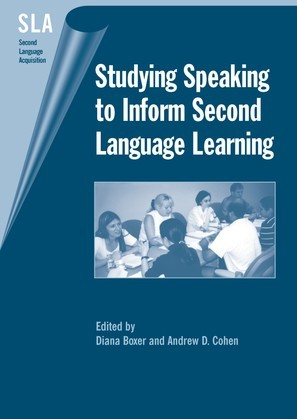 Studying Speaking to Inform Second Language Learning