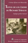 Textos de los «Lieder» de Richard Strauss