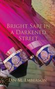 Bright Sari in a Darkened Street