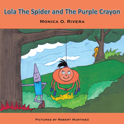 Lola the Spider and the Purple Crayon