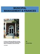 Municipal Management & Finances