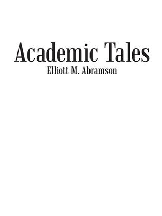 Academic Tales