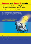 Omega 3 and Vitamin D Secrets !