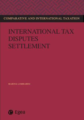 International tax disputes settlement
