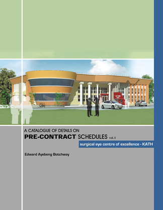 A Catalogue of Details on Pre-Contract Schedules