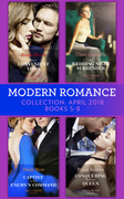 Modern Romance Collection: April 2018 Books 5 - 8: Vieri's Convenient Vows / Her Wedding Night Surrender / Captive at Her Enemy's Command / Conquering His Virgin Queen (Mills & Boon e-Book Collections)