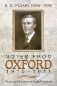 Notes from Oxford, 1910–1911