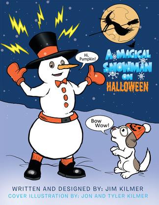 A Magical Snowman on Halloween