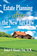 Estate Planning After the New Tax Law