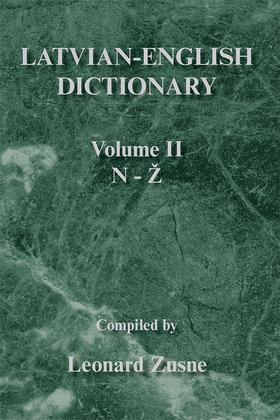 Latvian-English Dictionary