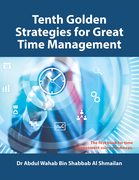 Tenth Golden Strategies for Great Time Management