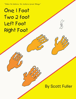 One 1 Foot Two 2 Foot  Left Foot  Right Foot