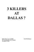 3 Killers at Dallas