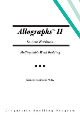 Allographs Ii Student Workbook