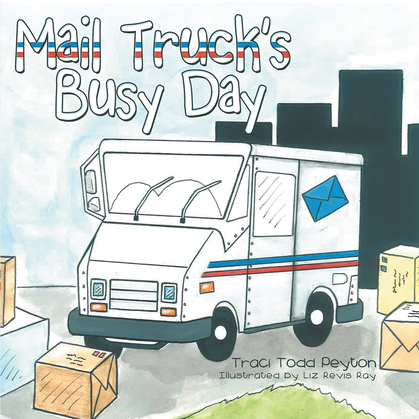 Mail Truck'S Busy Day