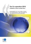 Tax Co-operation 2010