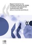Rapport annuel sur les Principes directeurs de l'OCDE à l'intention des entreprises multinationales 2008