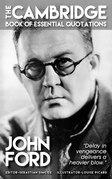 JOHN FORD - The Cambridge Book of Essential Quotations