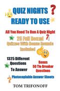 Quiz Nights Ready to Use