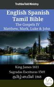 English Spanish Tamil Bible - The Gospels IV - Matthew, Mark, Luke & John