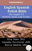 English Spanish Polish Bible - The Gospels VII - Matthew, Mark, Luke & John