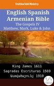 English Spanish Armenian Bible - The Gospels IV - Matthew, Mark, Luke & John