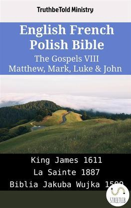 English French Polish Bible - The Gospels VIII - Matthew, Mark, Luke & John