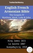 English French Armenian Bible - The Gospels IV - Matthew, Mark, Luke & John