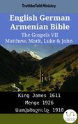 English German Armenian Bible - The Gospels VII - Matthew, Mark, Luke & John
