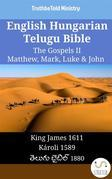 English Hungarian Telugu Bible - The Gospels II - Matthew, Mark, Luke & John