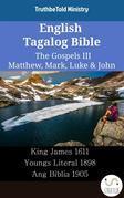 English Tagalog Bible - The Gospels III - Matthew, Mark, Luke & John