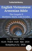 English Vietnamese Armenian Bible - The Gospels II - Matthew, Mark, Luke & John