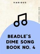 Beadle's Dime Song Book No. 4