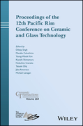 Proceedings of the 12th Pacific Rim Conference on Ceramic and Glass Technology