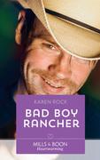 Bad Boy Rancher (Mills & Boon Heartwarming) (Rocky Mountain Cowboys, Book 3)