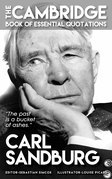 CARL SANDBURG - The Cambridge Book of Essential Quotations