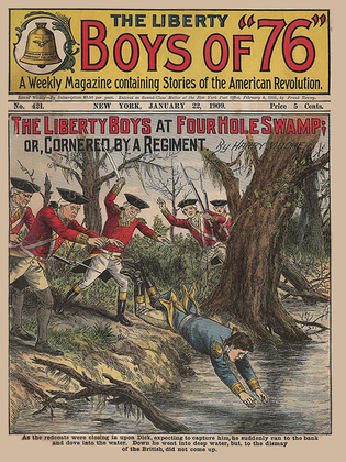 The Liberty Boys at Four Hole Swamp; or, Cornered by a Regiment