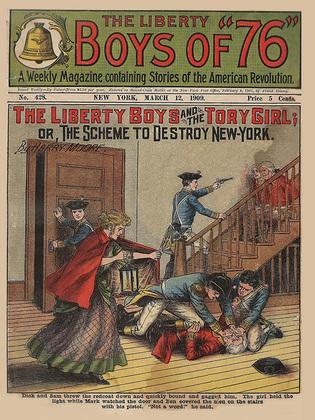 The Liberty Boys and the Tory Girl
