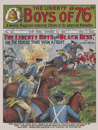 """The Liberty Boys and """"Black Bess"""""""