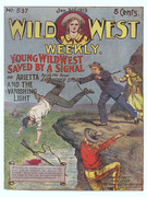 Young Wild West Saved by a Signal